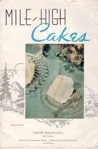 Mile High Cakes, 1957