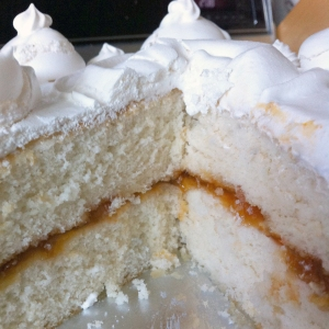 High-Altitude White Cake