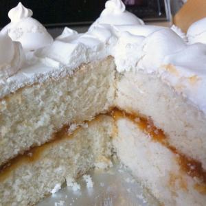 High-Altitude White Cake